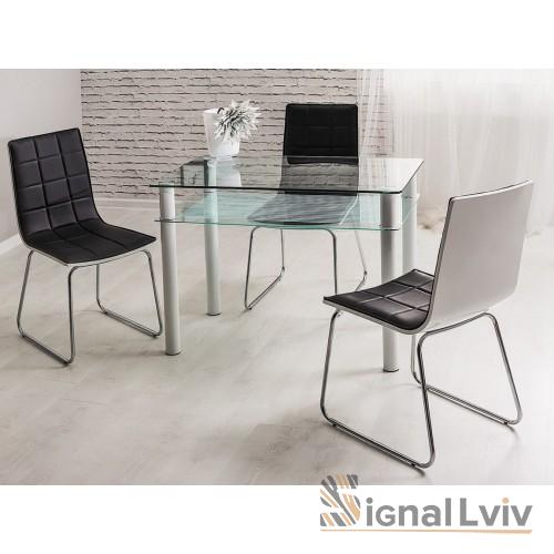 Стол стеклянный 80х60 Pixel фабрика Signal
