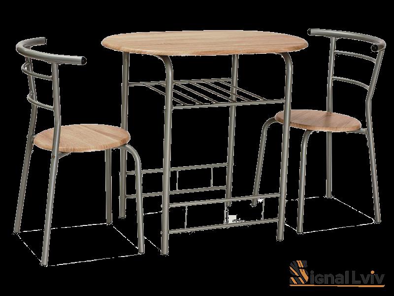 Набор столовой мебели Gabo Signal дуб сонома