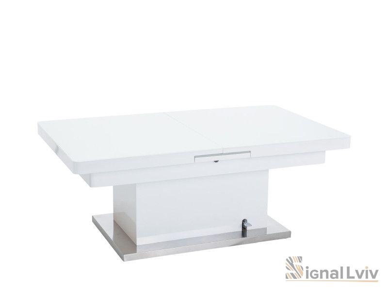 Стол трансформер Signal Megara | Белый