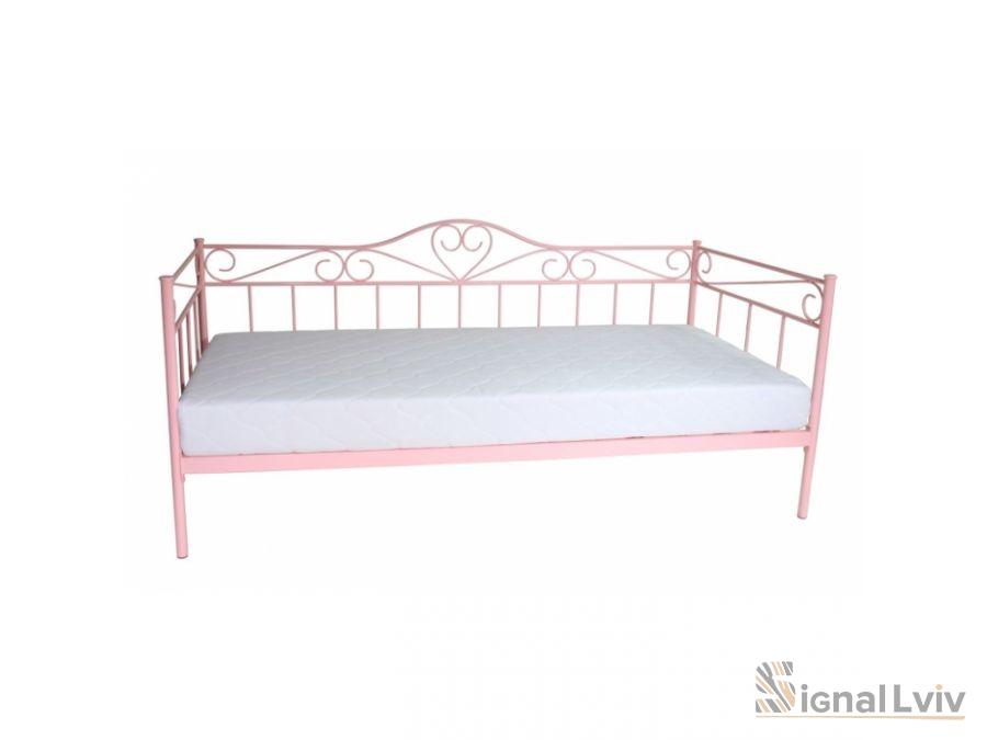 Кровать Signal Birma | 90х200 / Розовый