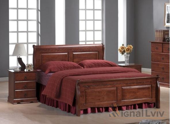 Кровать Signal Boston | 160х200 / Античная черешня