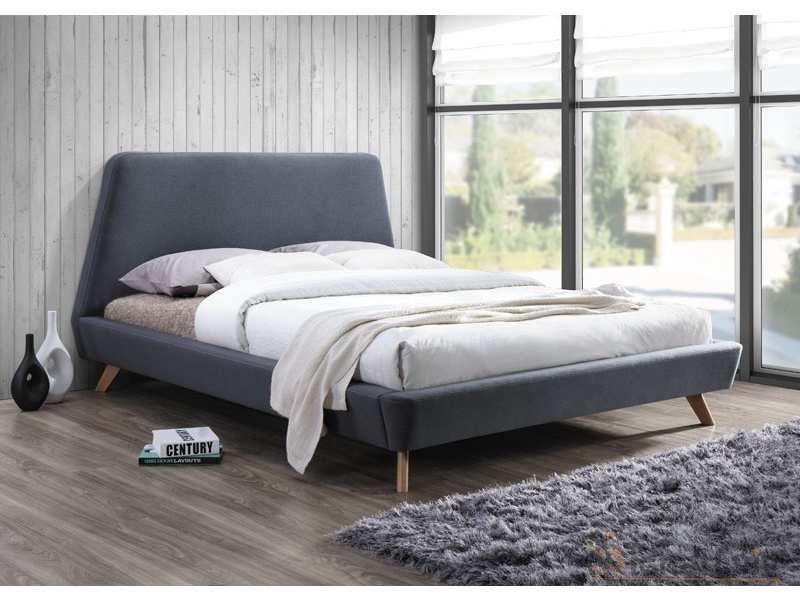 Кровать Gant 160х200 фабрика Signal серый