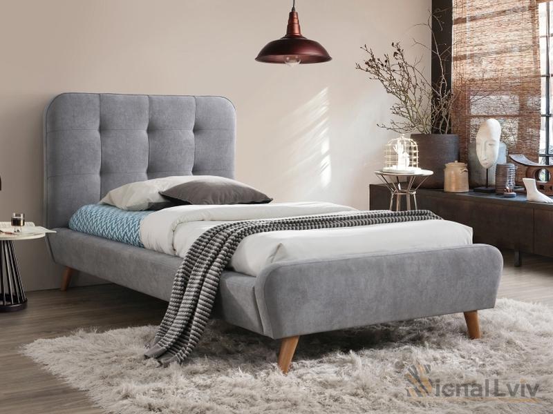 Кровать Signal TIFFANY (серый) 90/200