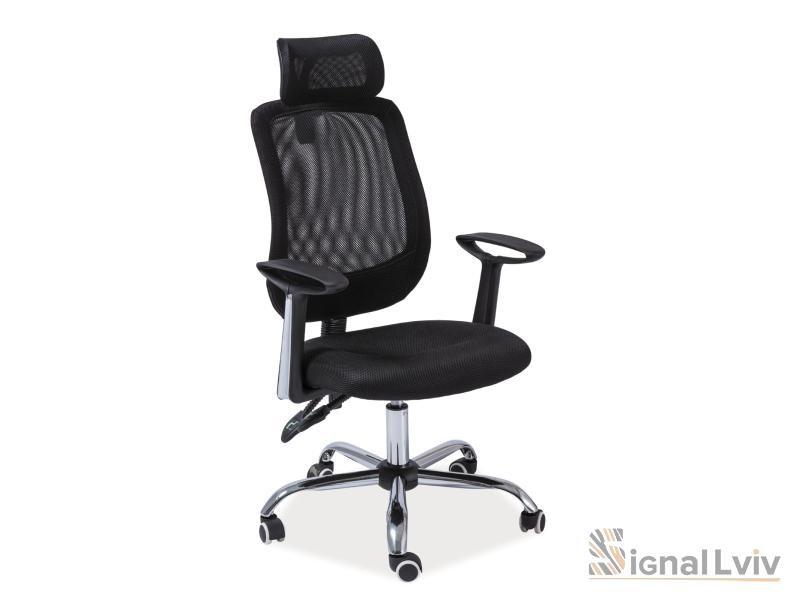 Кресло офисное Q-118 фабрика Signal (черный)