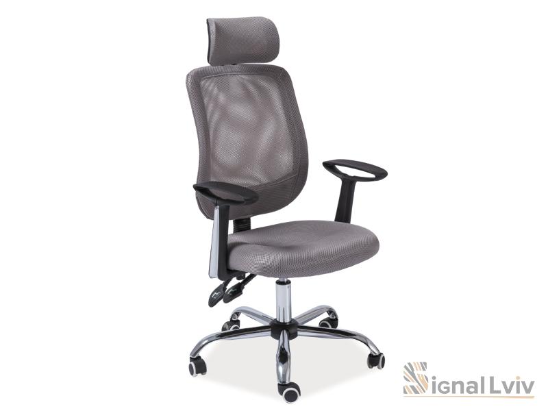 Кресло офисное Q-118 фабрика Signal (серый)