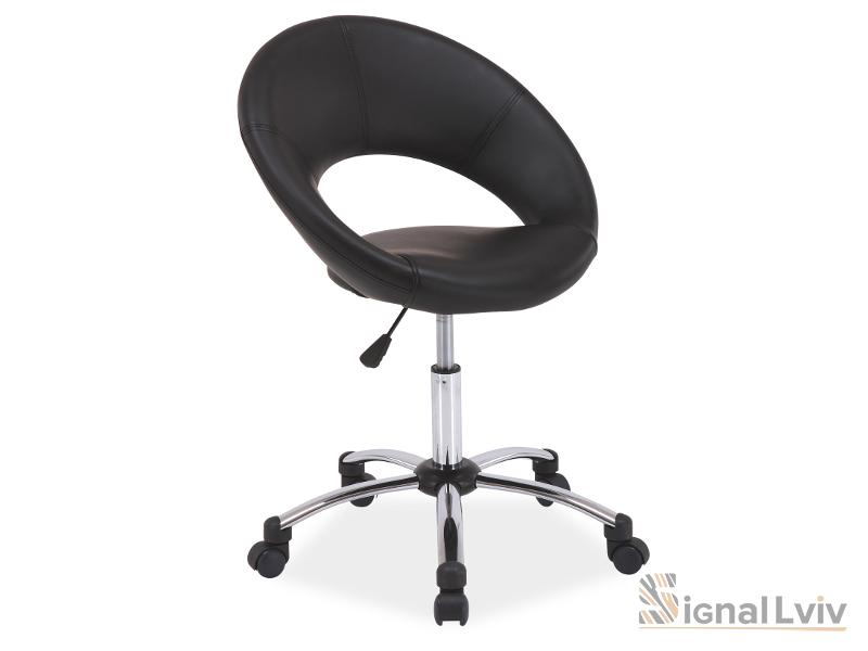 Кресло офисное Q-128 фабрика Signal цвет черный