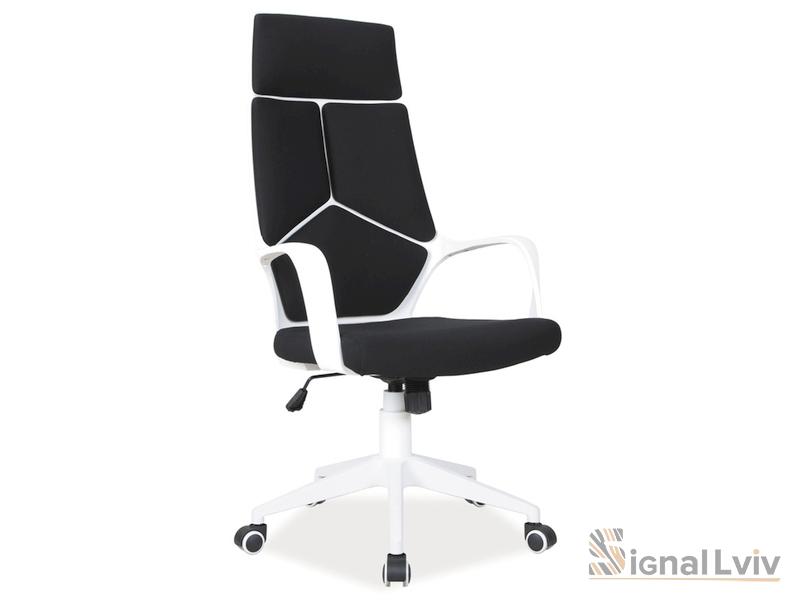 Кресло офисное Q-199 фабрика Signal цвет черно-белый