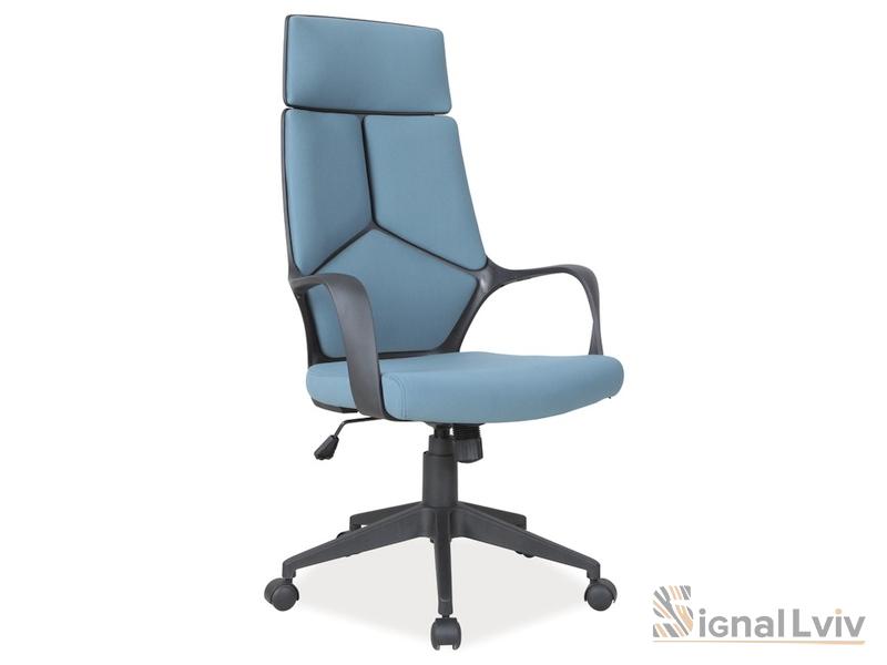 Кресло офисное Q-199 фабрика Signal цвет черно-синий