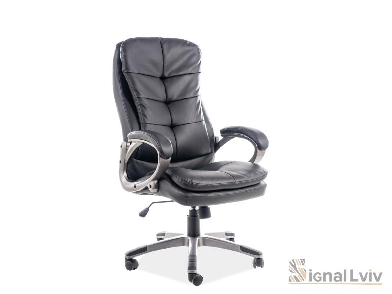 Кресло офисное поворотное Q-270 цвет черный