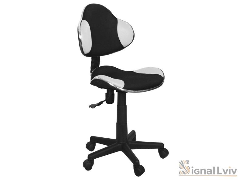 Кресло офисное Q-G2 ткань черно-белый цвет фабрика Signal