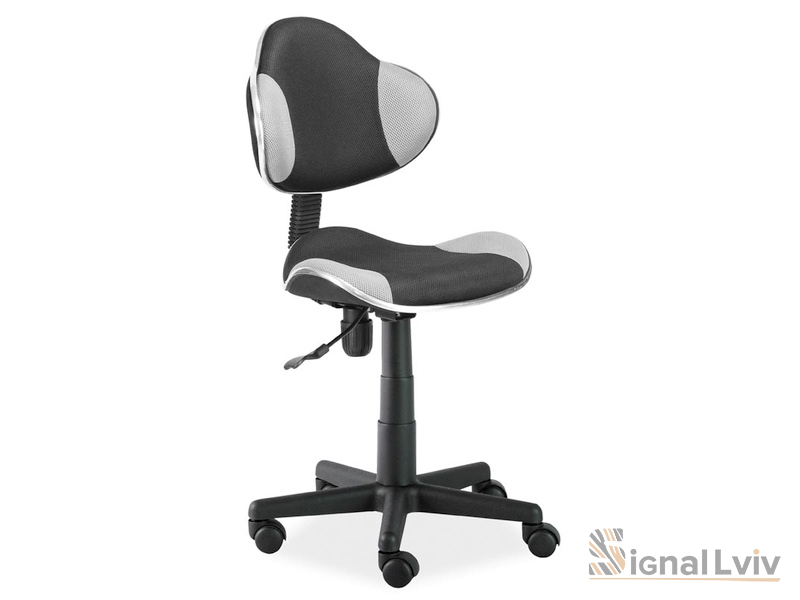 Кресло офисное Q-G2 ткань черный-серый цвет фабрика Signal