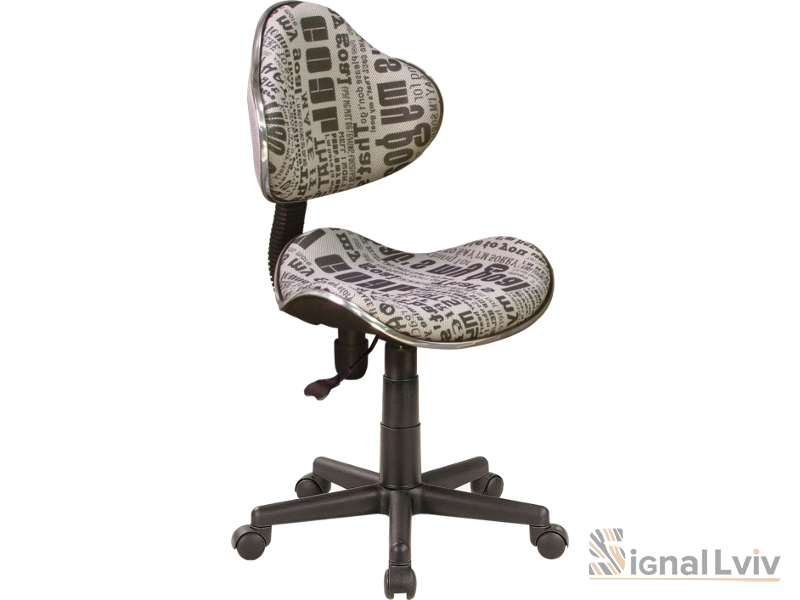 Кресло офисное Q-G2 ткань фабрика Signal (текст)