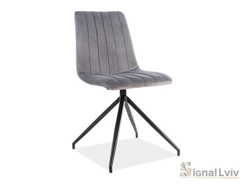 Кресло Alan II Velvet Signal цвет серый