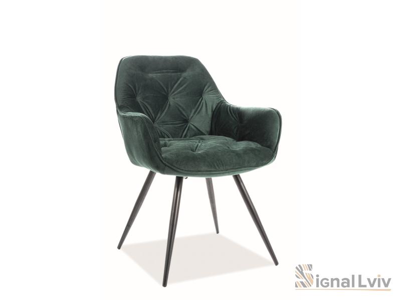 Кресло Cherry Velvet Signal цвет зеленый