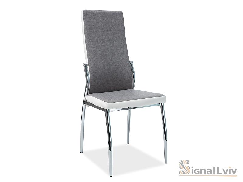 Офисный стул H-237 фабрика Signal (серый/белый)