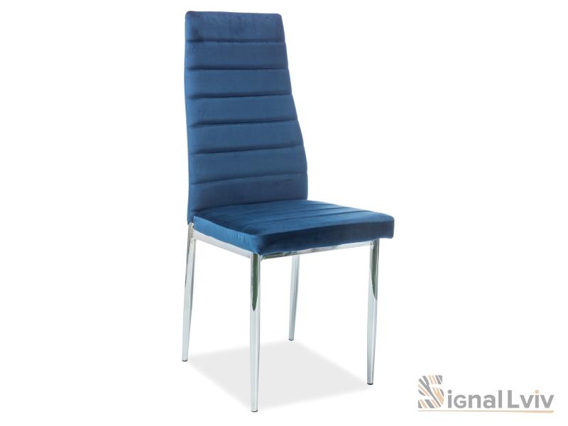 Стул металлический H-261 Velvet цвет синий
