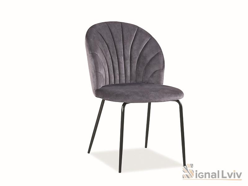 Кресло Lola Velvet Signal цвет серый
