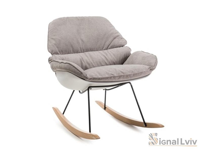 Кресло-качалка Alzano Signal цвет бежевый