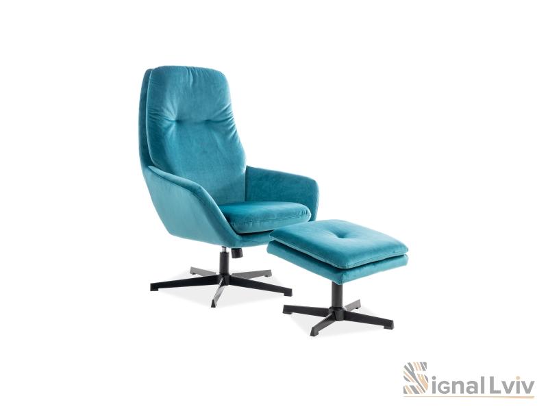Кресло Ford Velvet Signal цвет бирюзовый