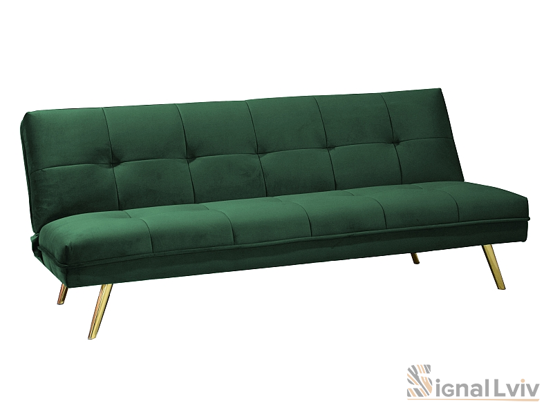 Софа раскладная Moritz Velvet Signal цвет зеленый