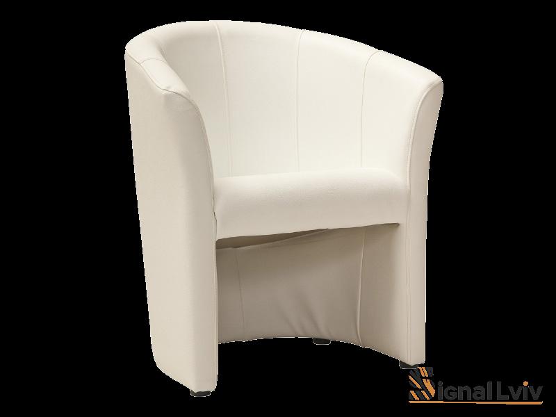 Кресло TM-1 фабрика Signal цвет кремовый