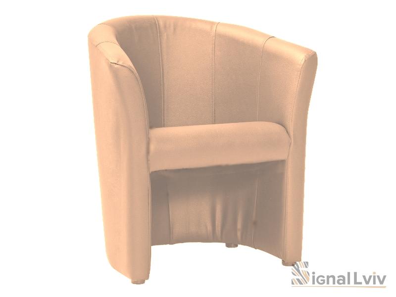 Кресло TM-1 фабрика Signal цвет светло-коричневый