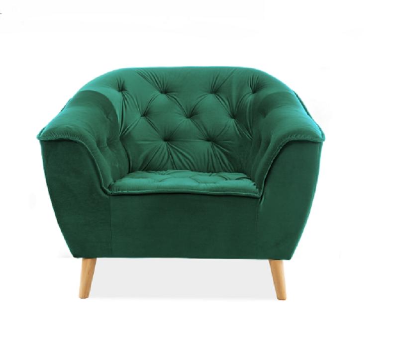 Кресло Galaxy 1 Velvet Signal цвет зеленый