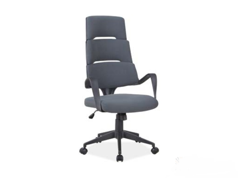 Кресло офисное поворотное Q-889 Signal цвет серый