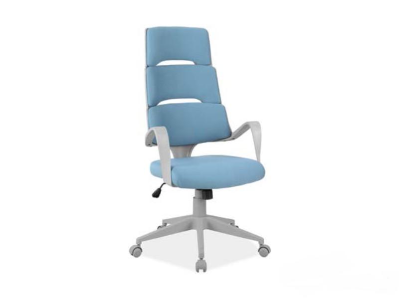 Кресло офисное поворотное Q-889 Signal цвет голубой