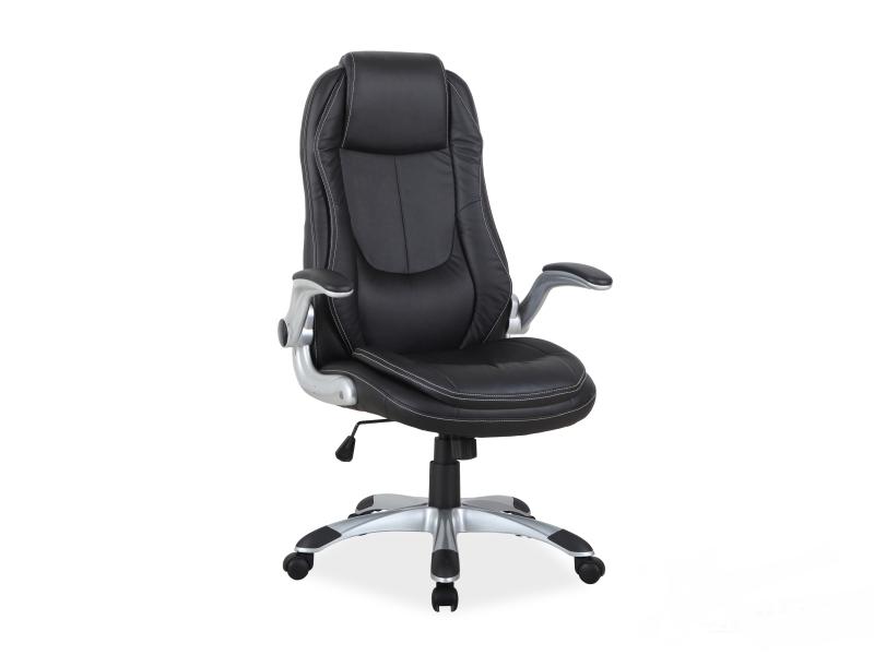 Кресло офисное Q-081 фабрика Signal (черный)