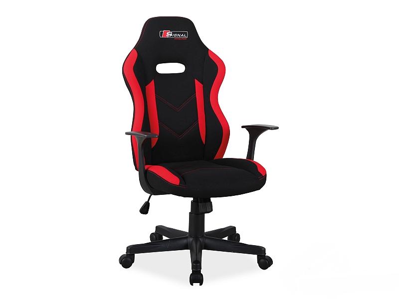 Офисное кресло Rapid фабрика Signal (красный/черный)