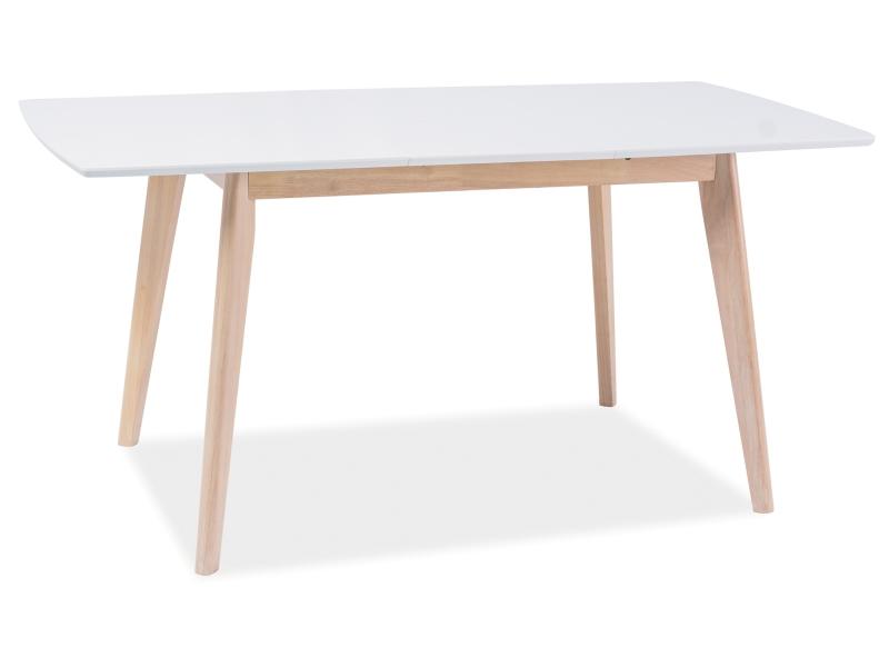 Стол обеденный Signal Combo II | Белый / дуб